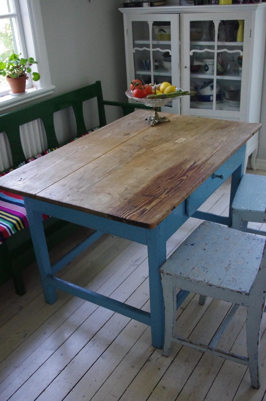 Fina Koksbord : Vackra Saker Vackert gammalt koksbord