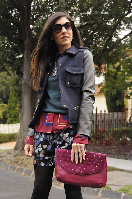Layering With Prints