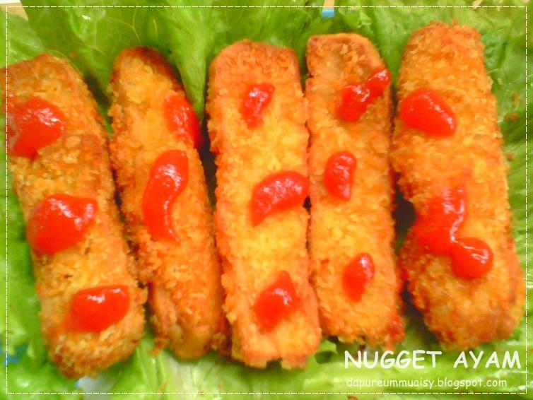 nugget ayam bahan nugget 250 gram daging ayam giling 1 bh butir telur ...