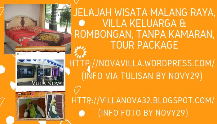 Jelajah Wisata Malang Raya dan Reservasi Villa Keluarga (Rombongan)  Strategis, Ada Ruang Sholat