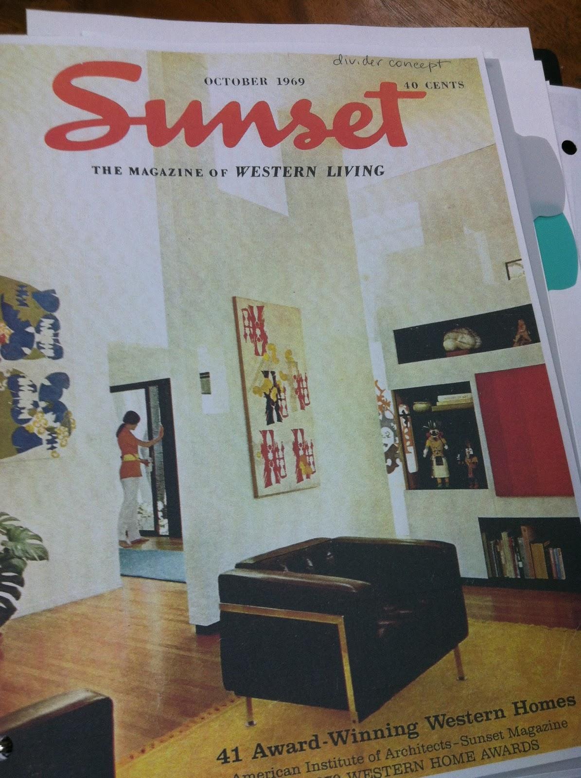 Turquoise Interior Design Blog Sunset Magazine