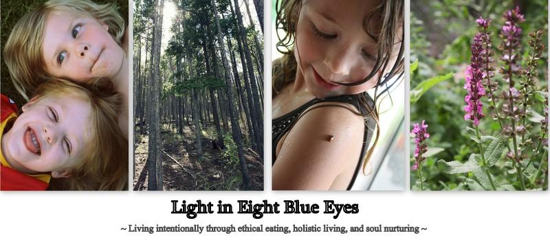 Light in Eight Blue Eyes