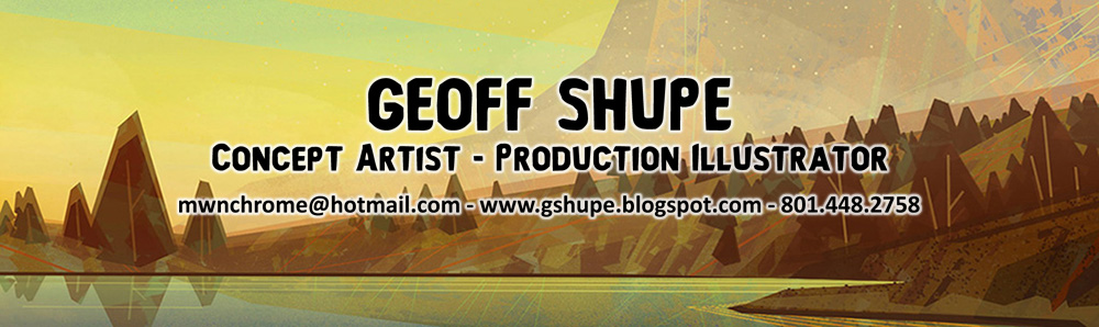 The Art of Geoff Shupe