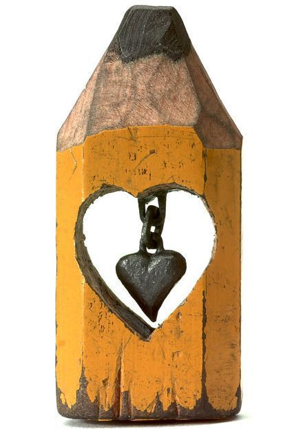 escultura en mina de lápiz