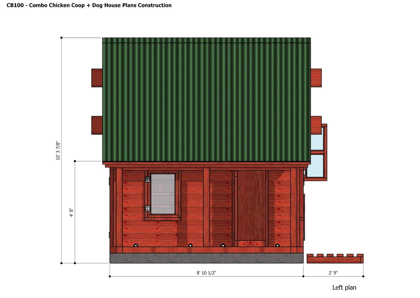 Felic  Insulated dog house plans pdf DiyDog House Construction Plans