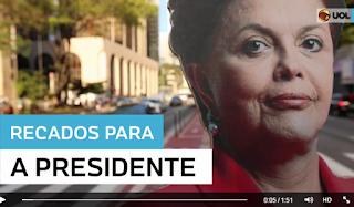 Em meio a baixa popularidade, paulistanos deixam recados para Dilma