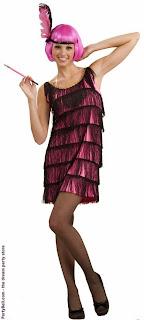 20's Pink Flapper Adult Costume