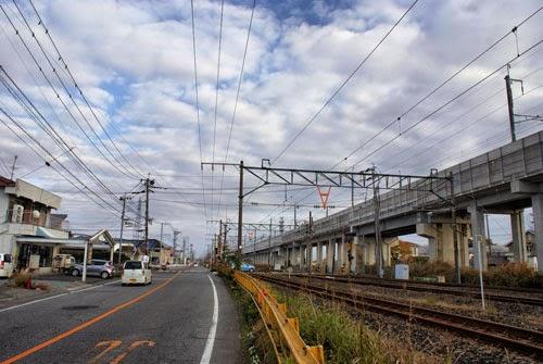 Matsubase to Kumamoto City, Kyushu, Japan.