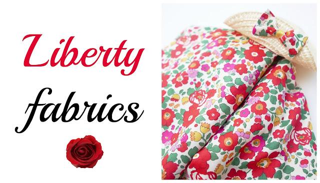 Tela Liberty ropa niño