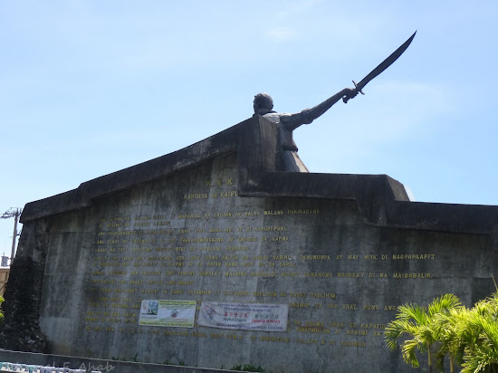 Monument of Andres Bonifacio near Manila City Hall