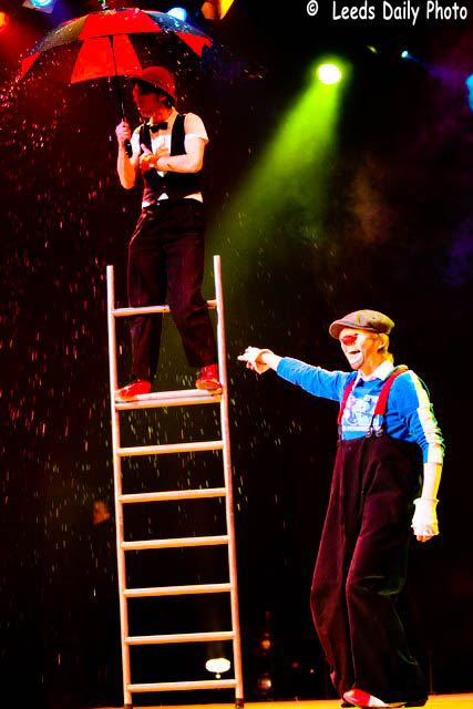 Circus clowns Yorkshire