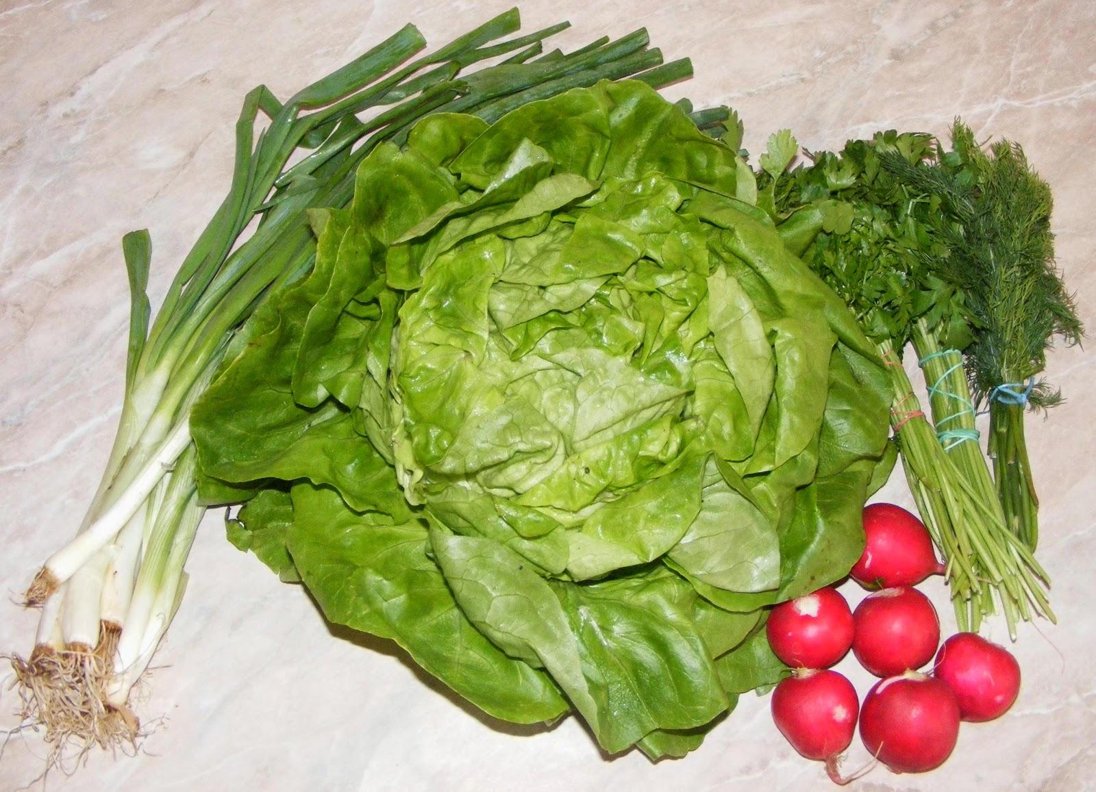 Salate dietetice de primavara