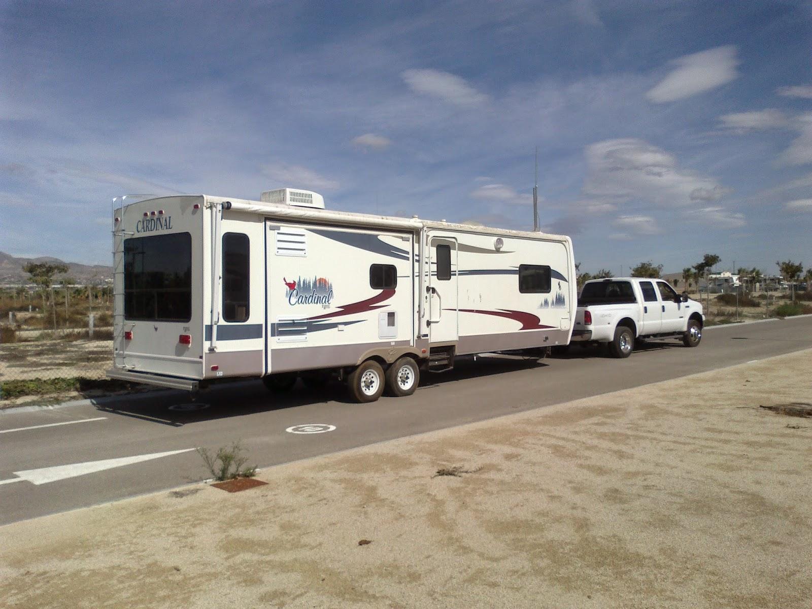 American caravan towing