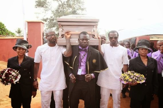 P-Square's Father's Burial Photos