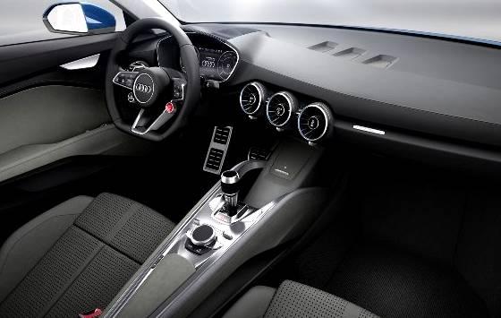 2016 Audi Q1 Interior