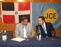 Presidente JCE  exhorta a los dominicanos residentes en España  a integrarse en la conformación de los colegios electorales