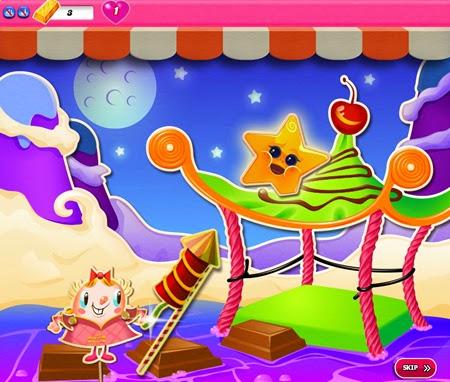 Candy Crush Saga 651-665 ending
