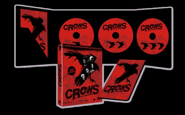 Concurso 'Crows. La trilogía': Tenemos para vosotros packs en Blu-ray de la trilogía