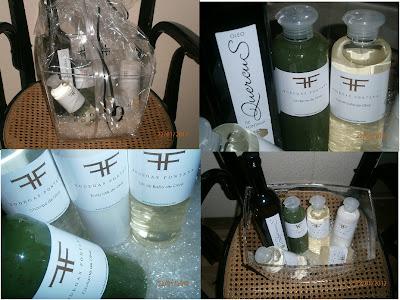productos de belleza de oliva