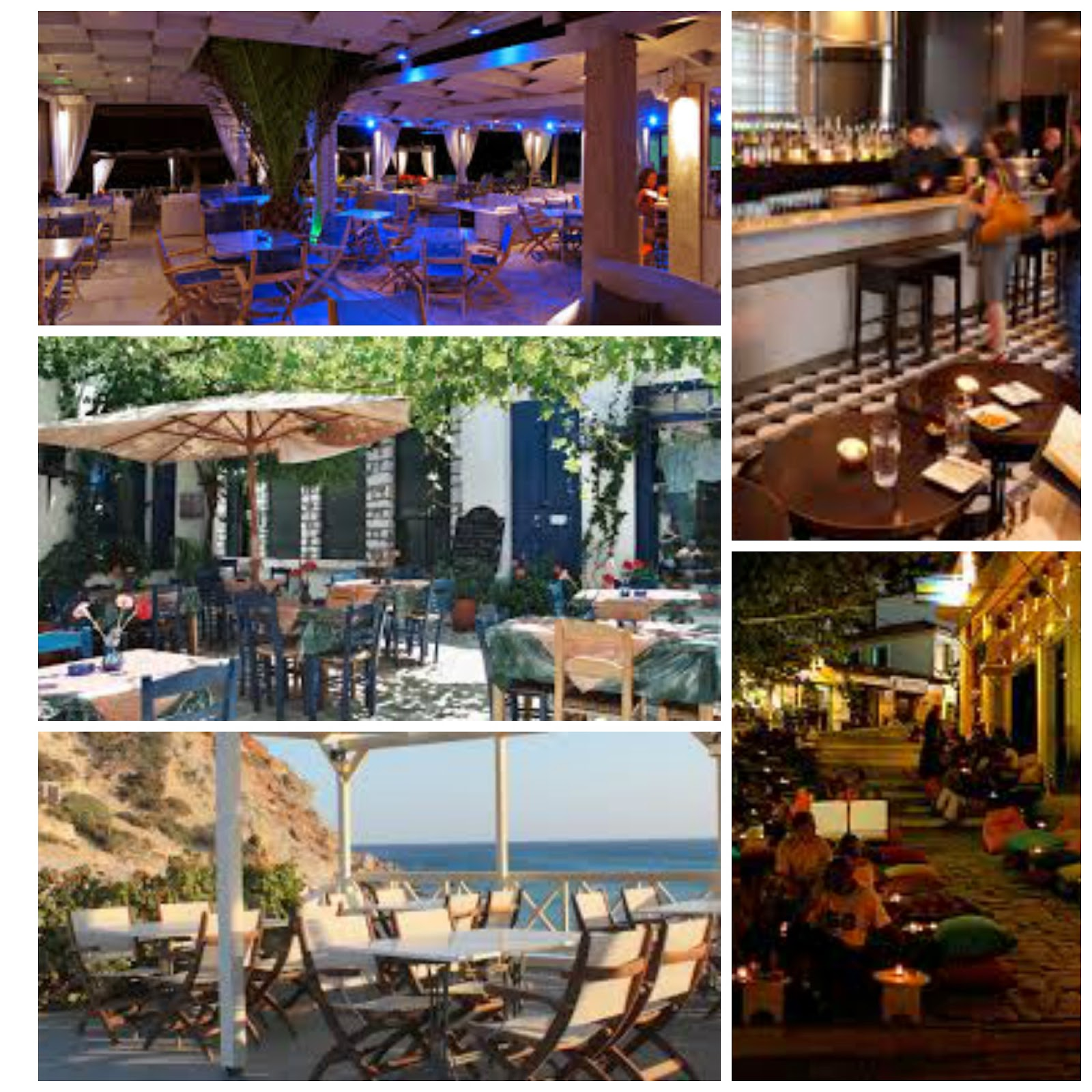 Eating and drinking in Greece.Pictures Courtesy of Google