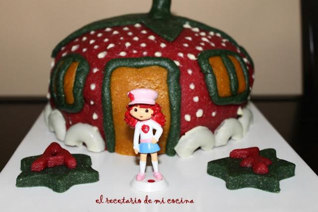 tarta casa tarta de fresa Ane