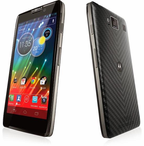 Motorola HD Razr Noir Comparatif smartphone