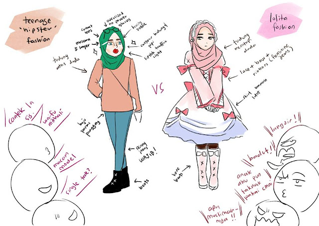 Fesyen Lolita Muslimah