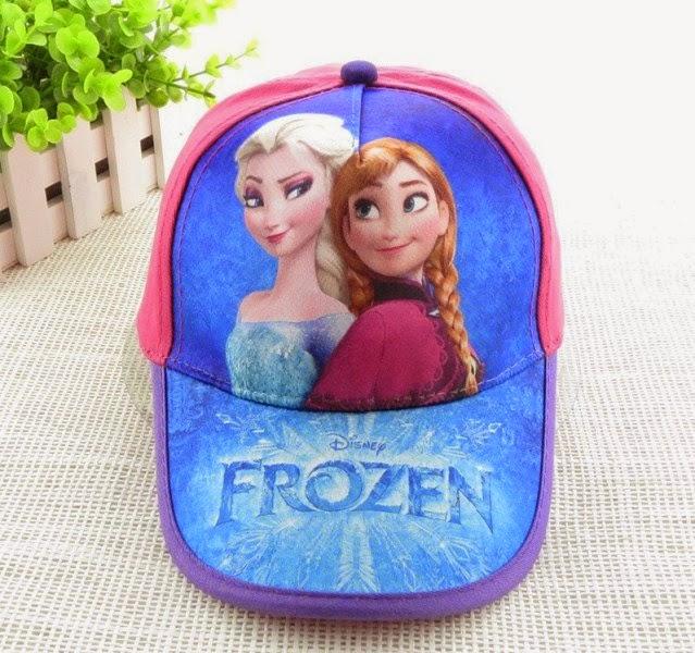Gambar topi frozen untuk anak
