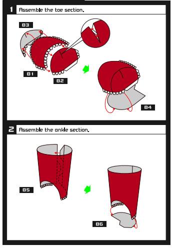 Из бумаги как сделать ботинки