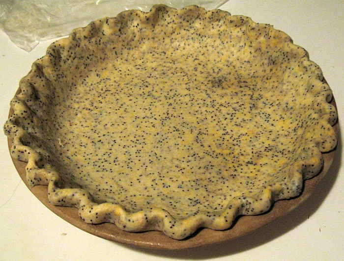 ... : Weekly Pies: Savory Sweet Potato Pie with Poppy-Seed-Cheddar Crust