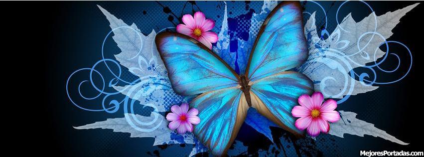 Las Mejores Portadas para tu perfil de Facebook ÷ - Mariposas