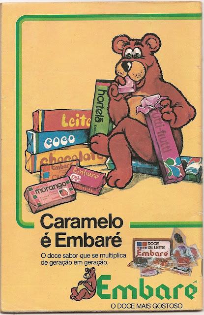 Propaganda dos Caramelos Embaré veiculada em 1978.