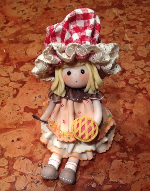 bambola di mais pasticcera