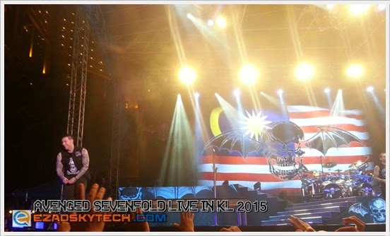 Avenged Sevenfold LIVE In KL 2015
