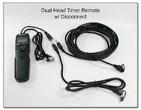 Dual Head Timer Remote with Disconnect