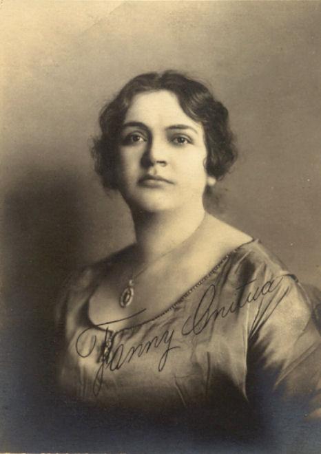 MEXICAN MEZZO-SOPRANO FANNY ANITUA (1887-1969) CD