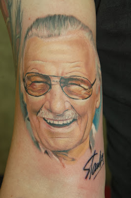 Stan Lee Color Portrait