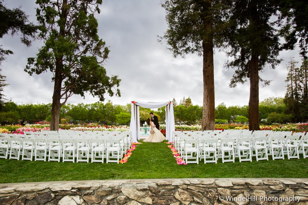 Williams Party Rentals Styled Shoot San Jose Rose Garden