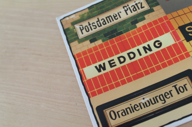 Postkarte Wedding