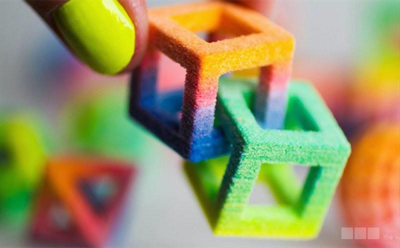 Chefjet una impresora 3D a todo color que imprime productos comestiblesborder=