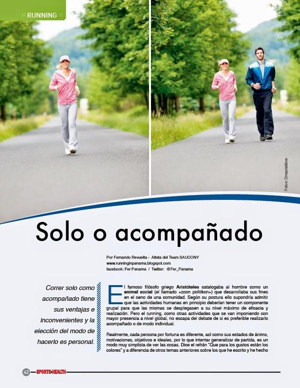 Correr acompañado