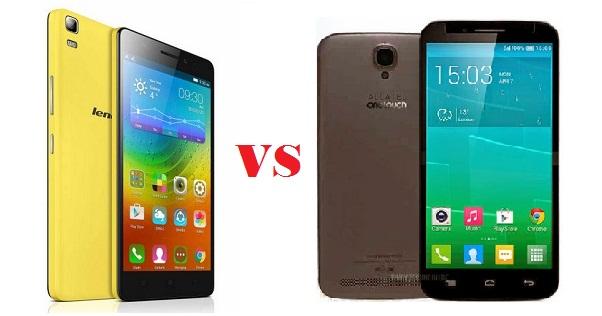 Lenovo A7000 VS Alcatel One Touch Flash Plus