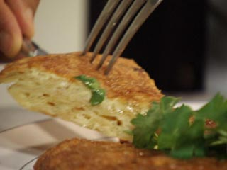 Tortilla de papas rapida