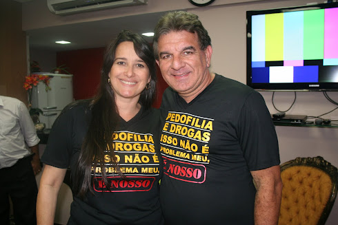 Marta Lança e Pr Jabes de Alencar