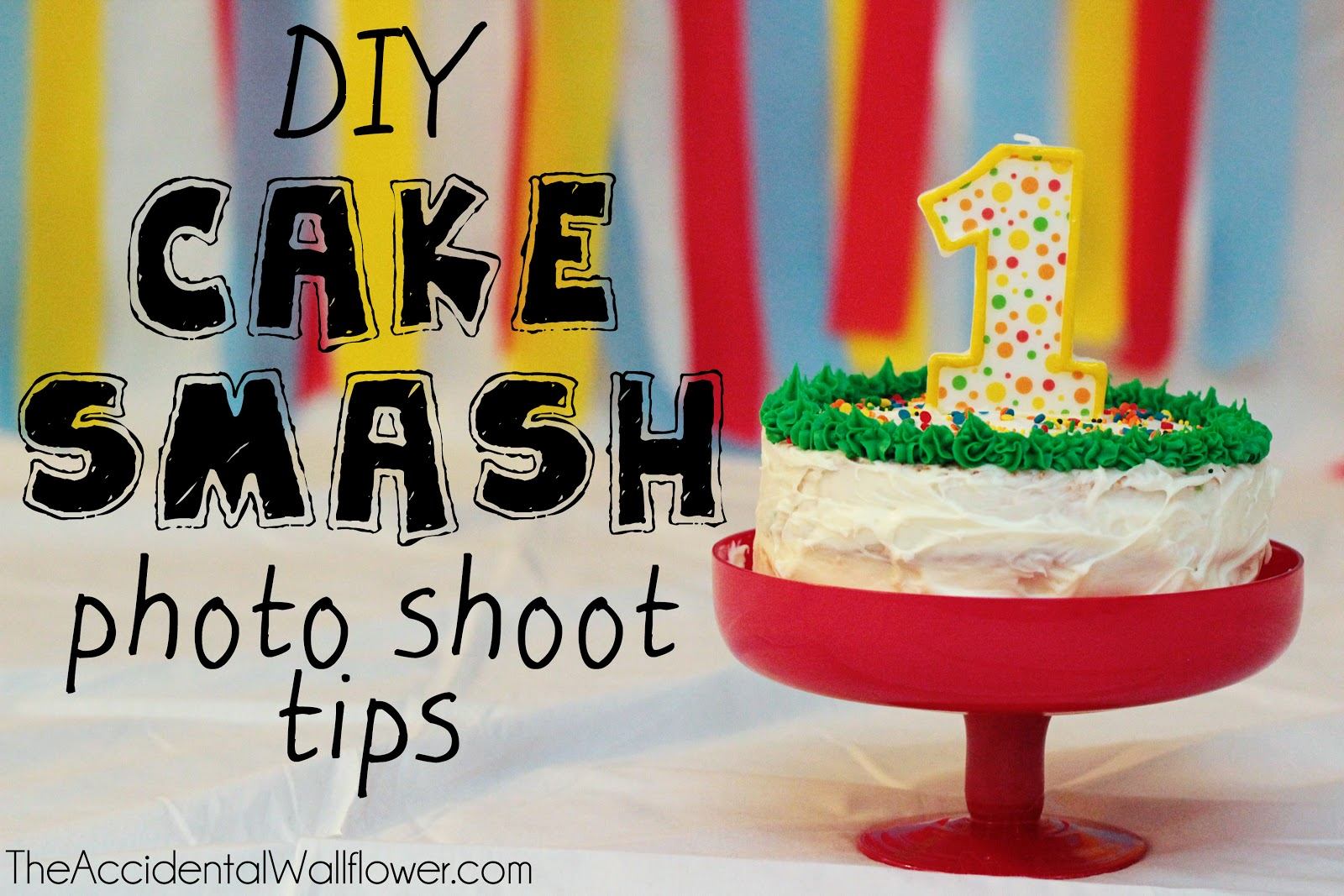 DIY Cake Smash Tips The Accidental Wallflower