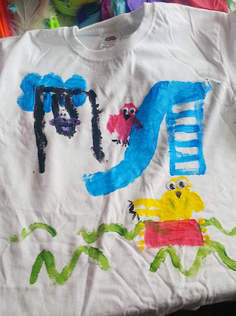 Decorating T-shirts Craft