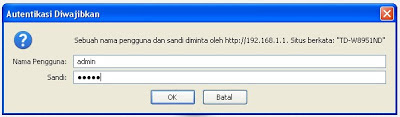 setting router tp link