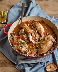 French Food Friday...Chicken Chasseur