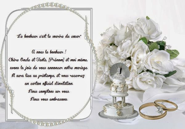 Jolie carte invitation mariage