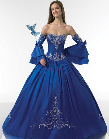 Royal Blue Wedding Dress Royal Blue Wedding Dresses Royal Blue
